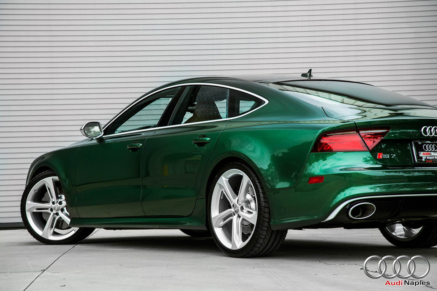 Audi Naples Delivers Stunning Rs7 Sportback