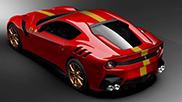 Quel look pour une Ferrari F12tdf Tailor Made!