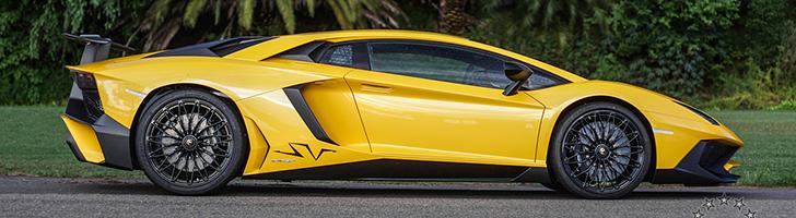 Shooting photo avec une Lamborghini Aventador SuperVeloce LP750-4