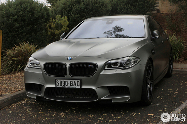 Spotted BMW M5 F10 30 Jahre Edition in Down Under