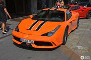 Something different: Orange Ferrari 458 Speciale