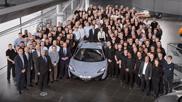 McLaren has produced its 10.000th car