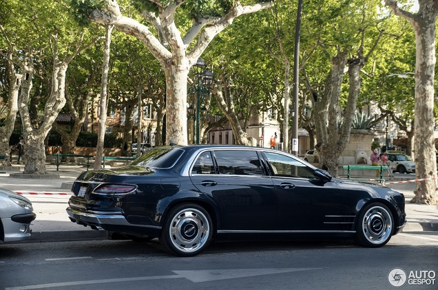 There is only one copy of this mercedes benz royale 600 for Mercedes benz s600 royale
