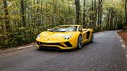 This is the new Lamborghini Aventador!