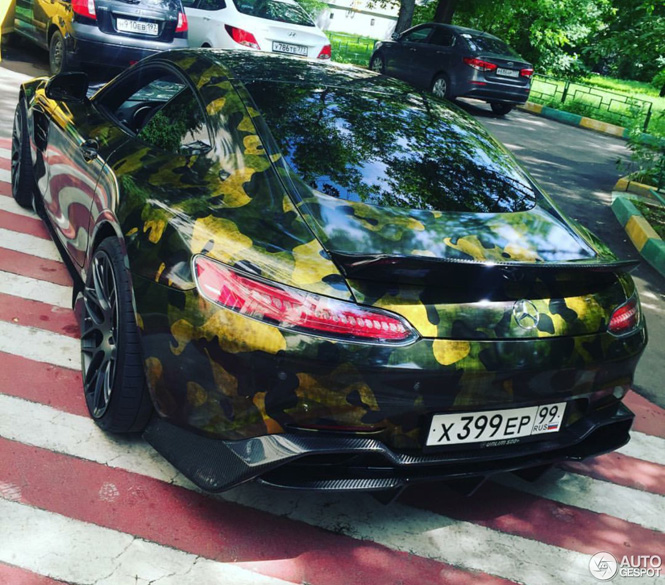 Gespot: Mercedes-AMG GT S op oorlogspad
