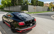 Spotted: Bentley Continental GT Speed Black Edition 2016
