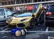 Gold Aventador isn't how it should be