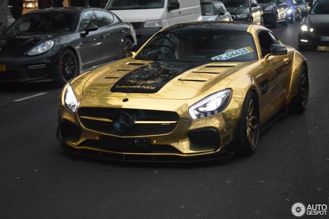 Mercedes wil de ster zijn tijdens feestdagen in Dusseldorf