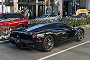 Spot of the day USA: Stunning black LaFerrari in Beverly Hills