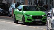 Kek kleurtje deel 1: Gifgroene Maserati Levante S