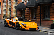 Fantastic McLaren P1 LM in London!