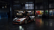 Pagani Huayra Lampo inspired by 1954 Fiat concept car
