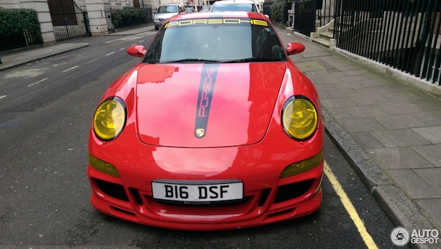 Porsche 997 Carrera S subtiel verpest
