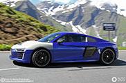 Audi R8 E-Tron maakt het spannend op de Grossglockner