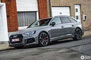 De eerste Audi RS4 Avant voor de Benelux is een feit