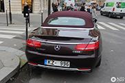 Eerste Maybach S650 Cabriolet gespot in Parijs