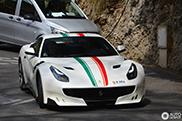Tricolore on the Ferrari F12tdf looks striking