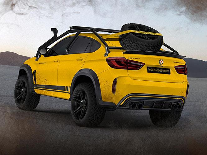 Manhart gaat Mercedes achterna met MHX6 Dirt² Concept