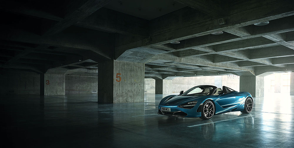 McLaren 720S Spider will be ready for the Summer