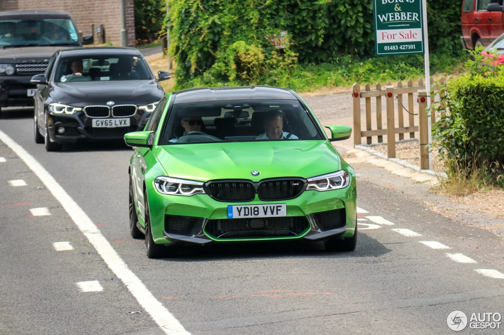 Nieuwe BMW M5 verdraagt opvallend groen verbazingwekkend goed