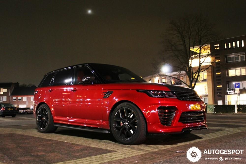 Spot van de dag: Land Rover Urban Range Rover Sport SVR