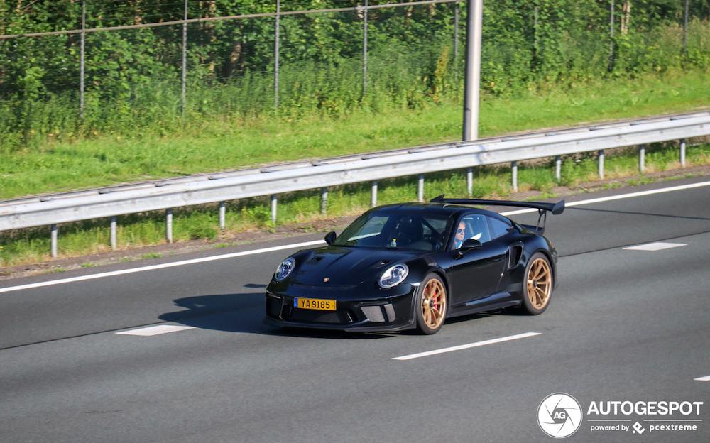 Spot van de dag: Porsche 991 GT3 RS MkII