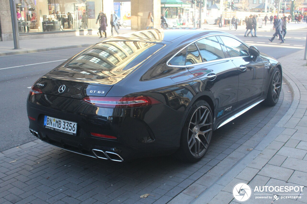 Spotted: Mercedes-AMG GT 63