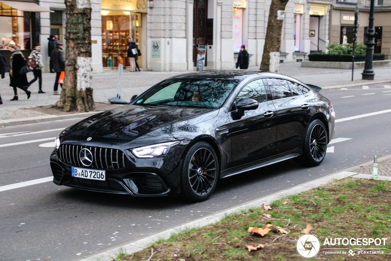 Berlijn laat nog een Mercedes-AMG GT 63 S zien