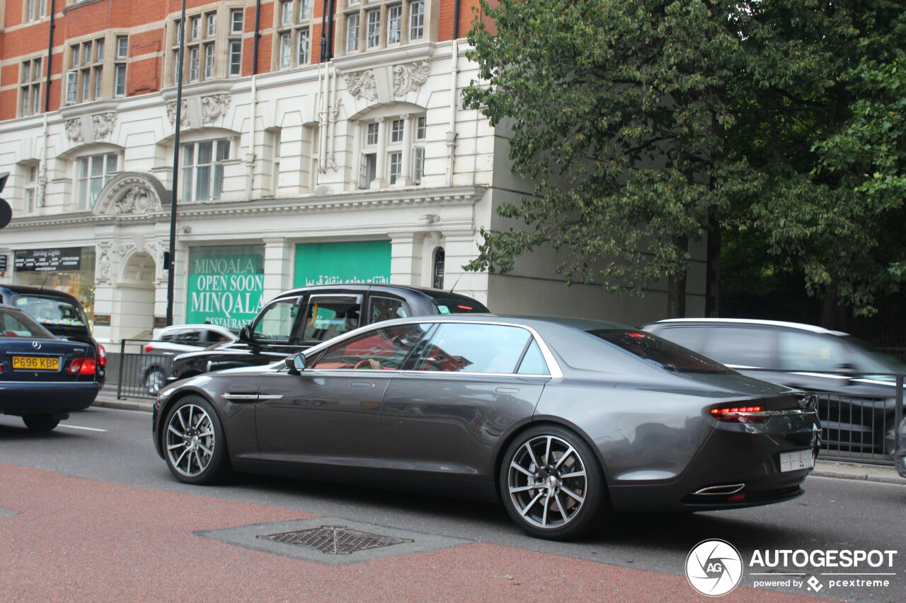 Aston Martin Lagonda Taraf blijft speciaaltje