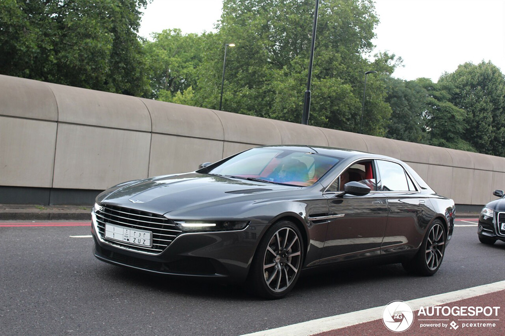 Top Spot: Aston Martin Lagonda Taraf