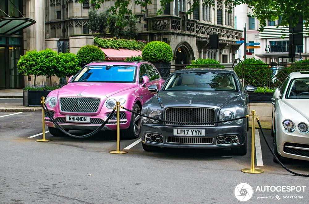 Bentley combo is opmerkelijk