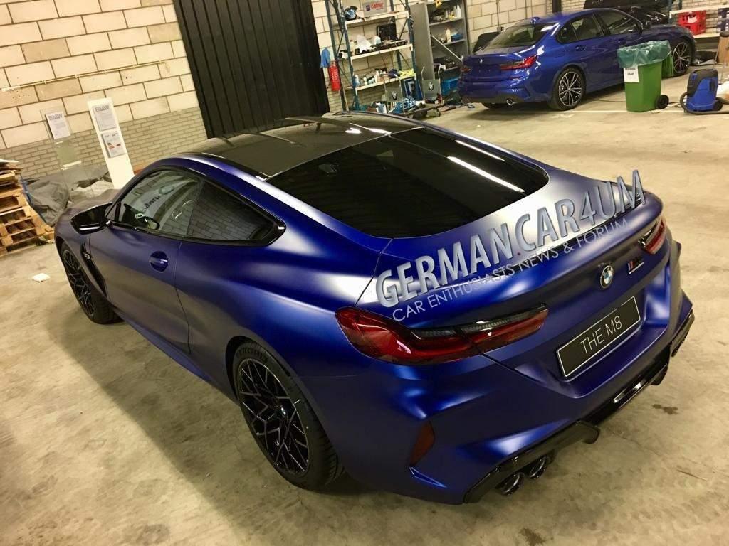 BMW M8 vroegtijdig gelekt