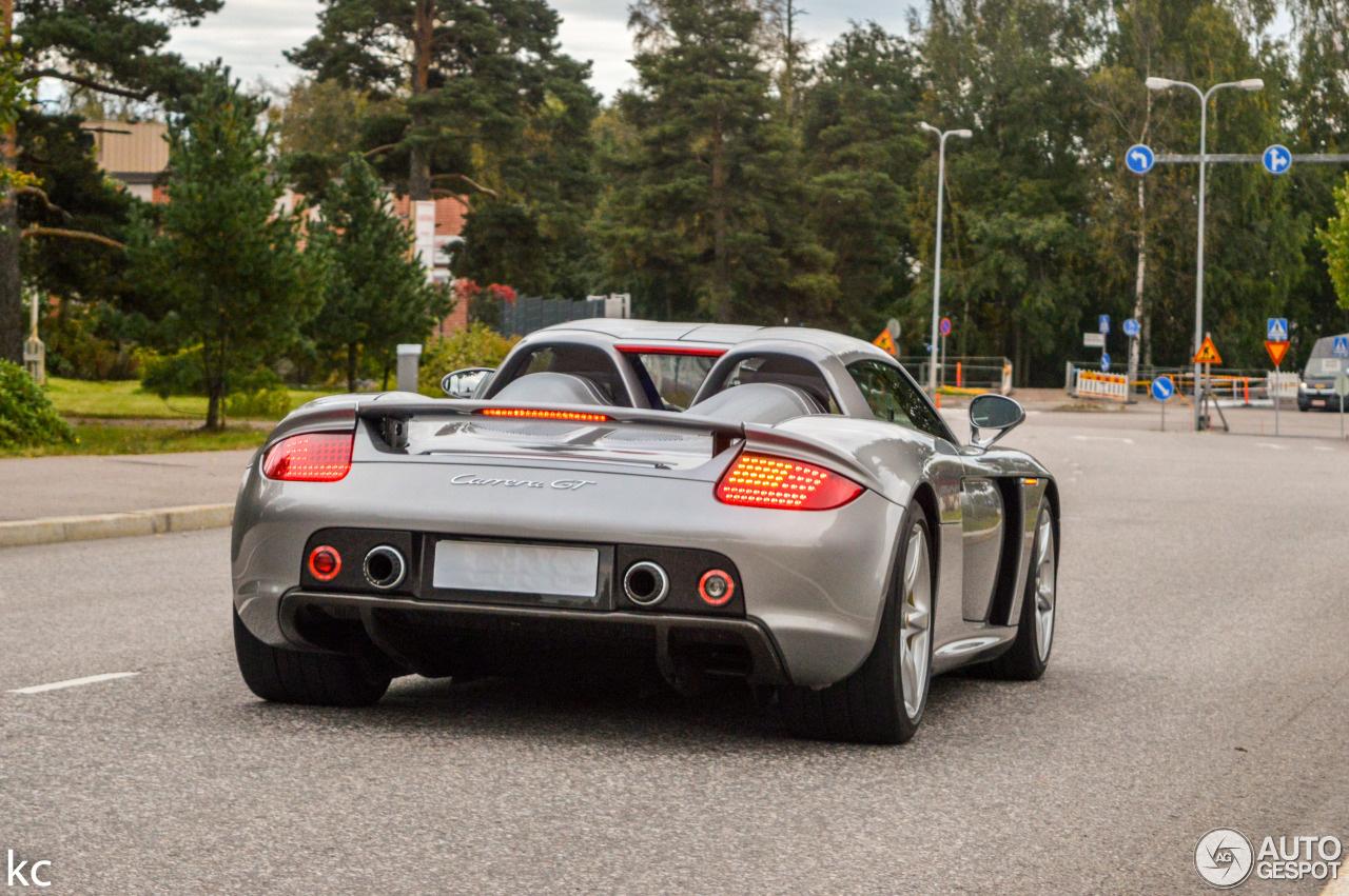 Nieuwe maand, nieuwe Porsche Carrera GT