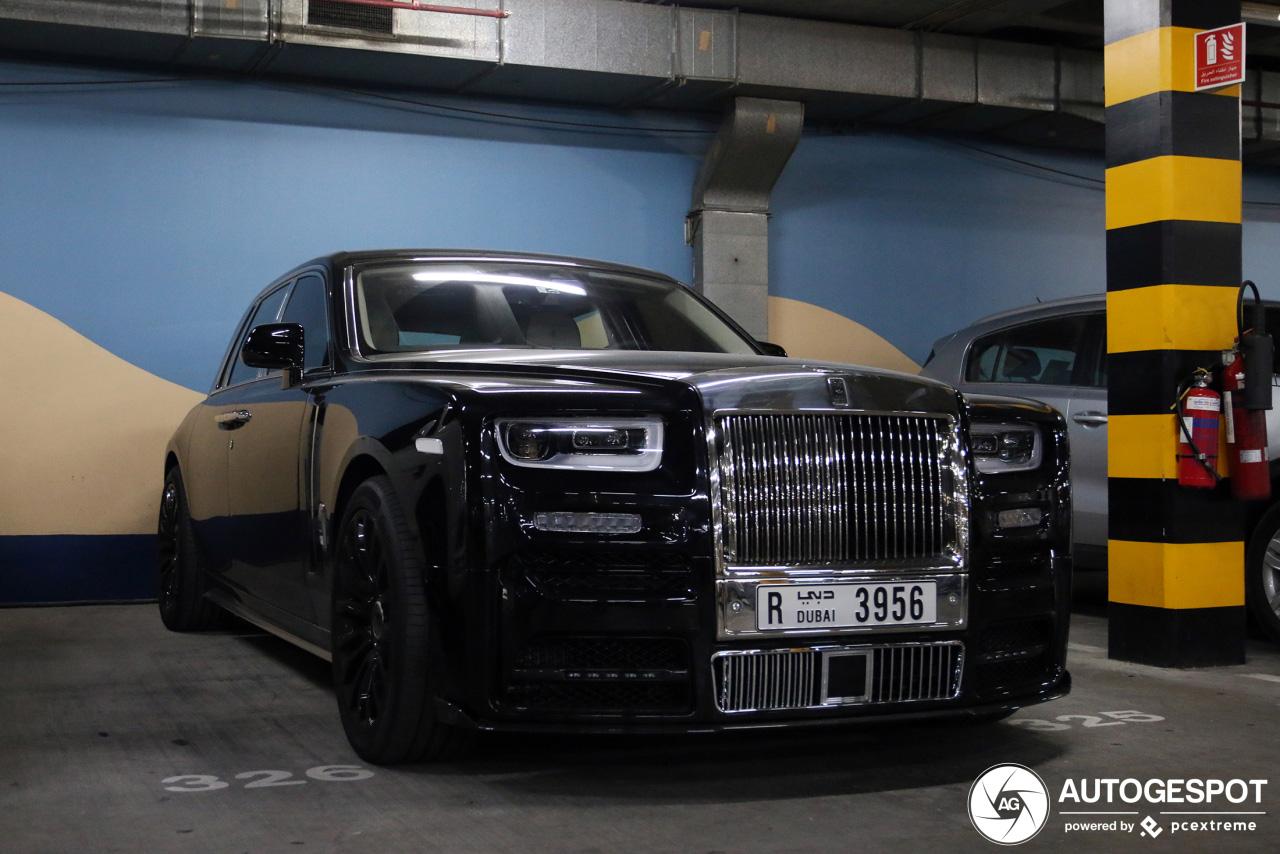 Mansory Rolls-Royce Phantom VIII mag er best zijn