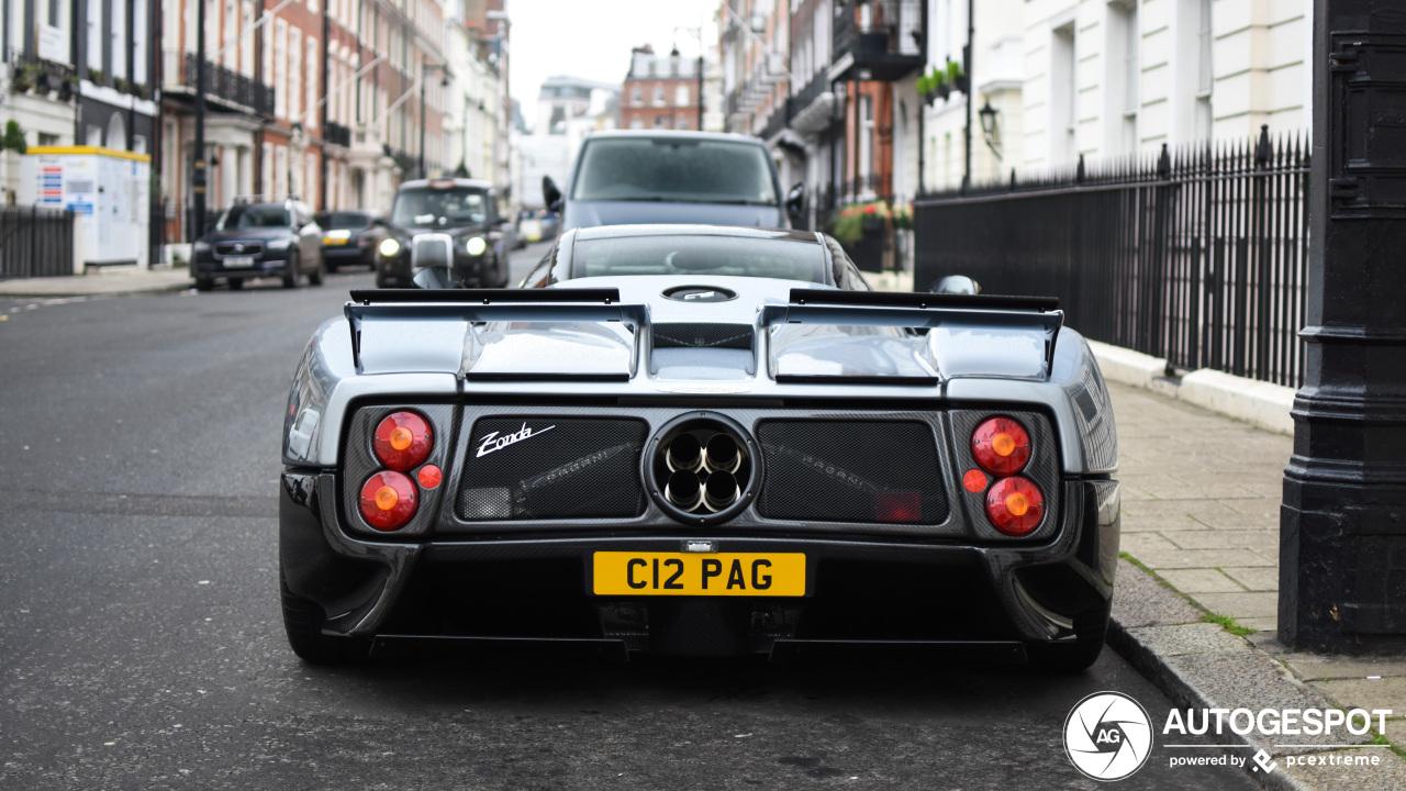 Voor deze Pagani C12 ga je naar Londen toe