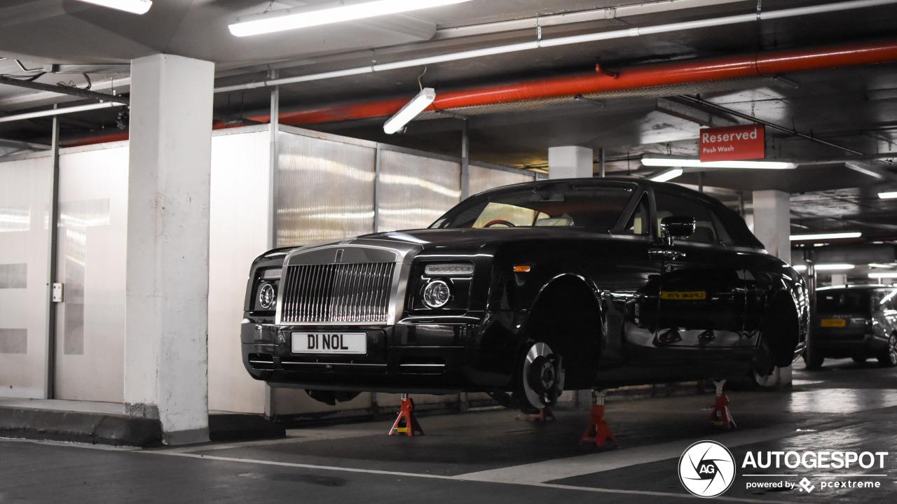 Rolls-Royce Phantom Drophead Coupé is geamputeerd