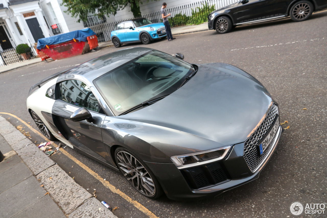 Audi R8 V10 Plus is schizofreen