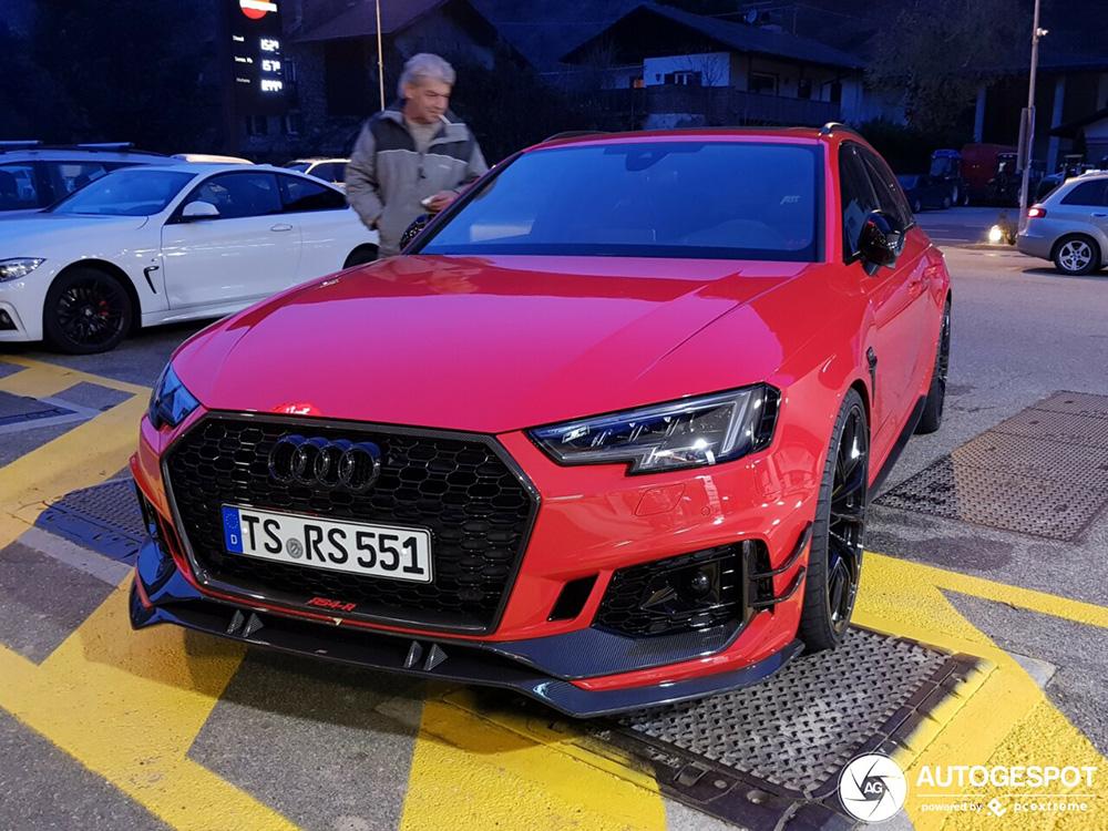 Is de standaard Audi RS4 Avant iets te braaf?