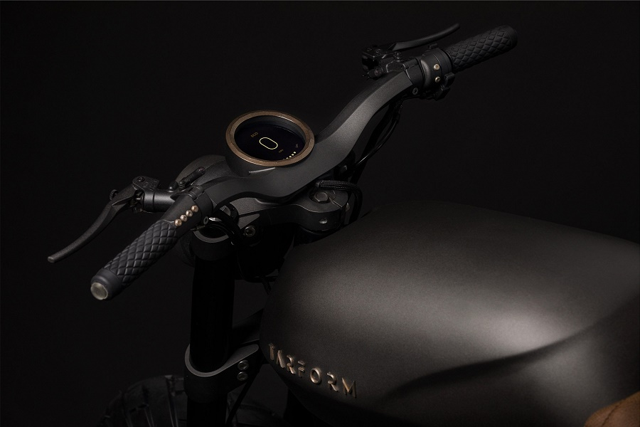 Tarform Motorcycle Unveils Their First Retro Electric Bike