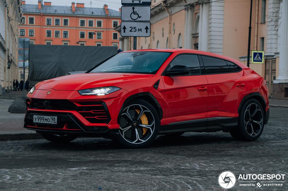 Goed weekend voor de Lamborghini Urus