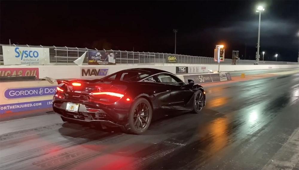 Filmpje: McLaren 720S met tuning is niet te vangen