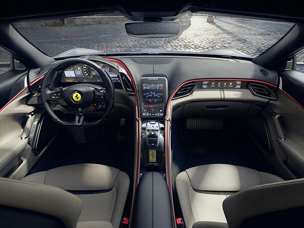 Ferrari Roma voor het eerst bewegend te zien