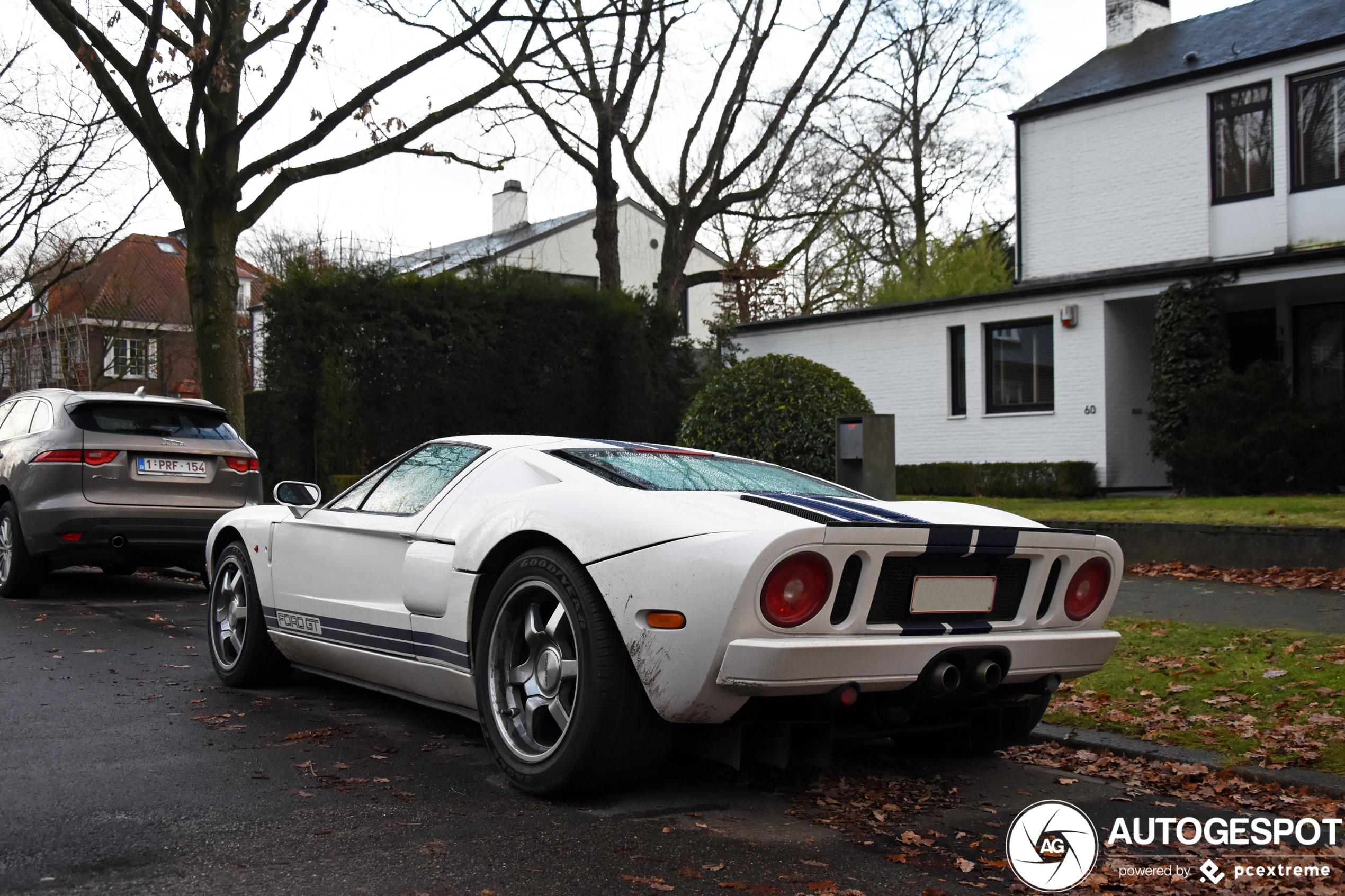 Ford GT verrast in Wilrijk