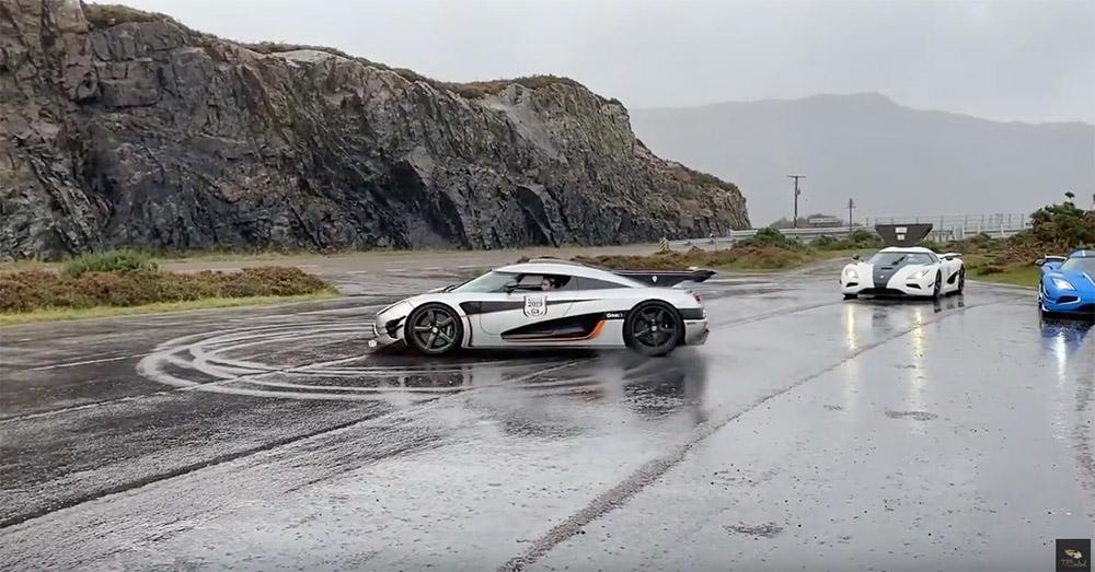 Filmpje: door Schotland aan boord van een Koenigsegg One:1