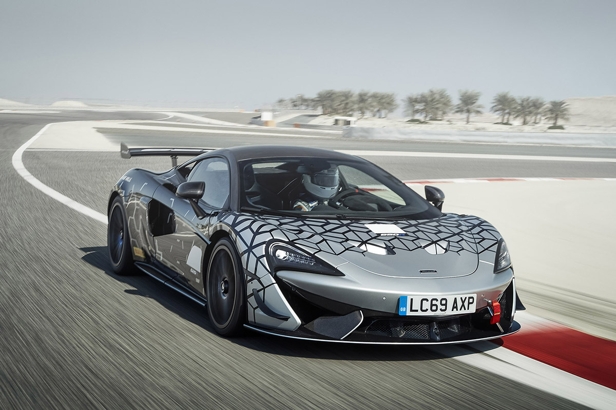 McLaren 620R is your daily racer for the street