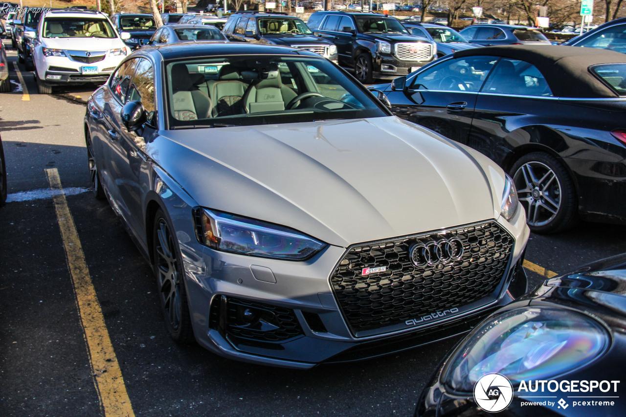 Eigenaar downgrade zichzelf naar een Audi RS5 Sportback