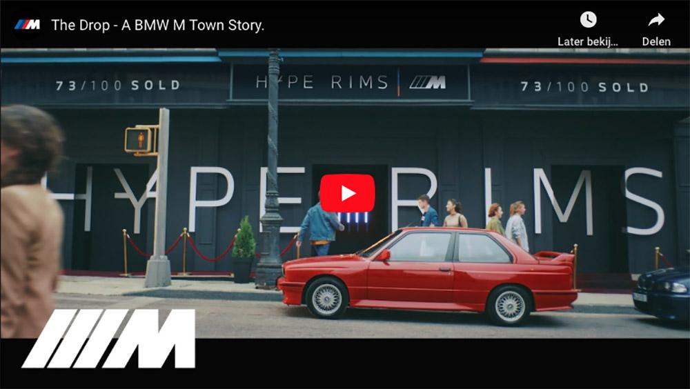 Filmpje: BMW M Town maakt zich op voor The Drop