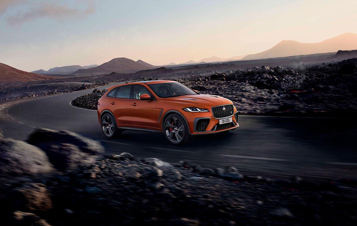 Jaguar maakt de F-PACE SVR nog een tandje sneller