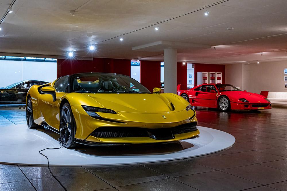 Ferrari SF90 Spider voor het eerst in Nederland te zien
