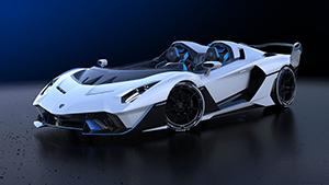 Lamborghini SC20: de unieke open-top circuitauto door Squadra Corse